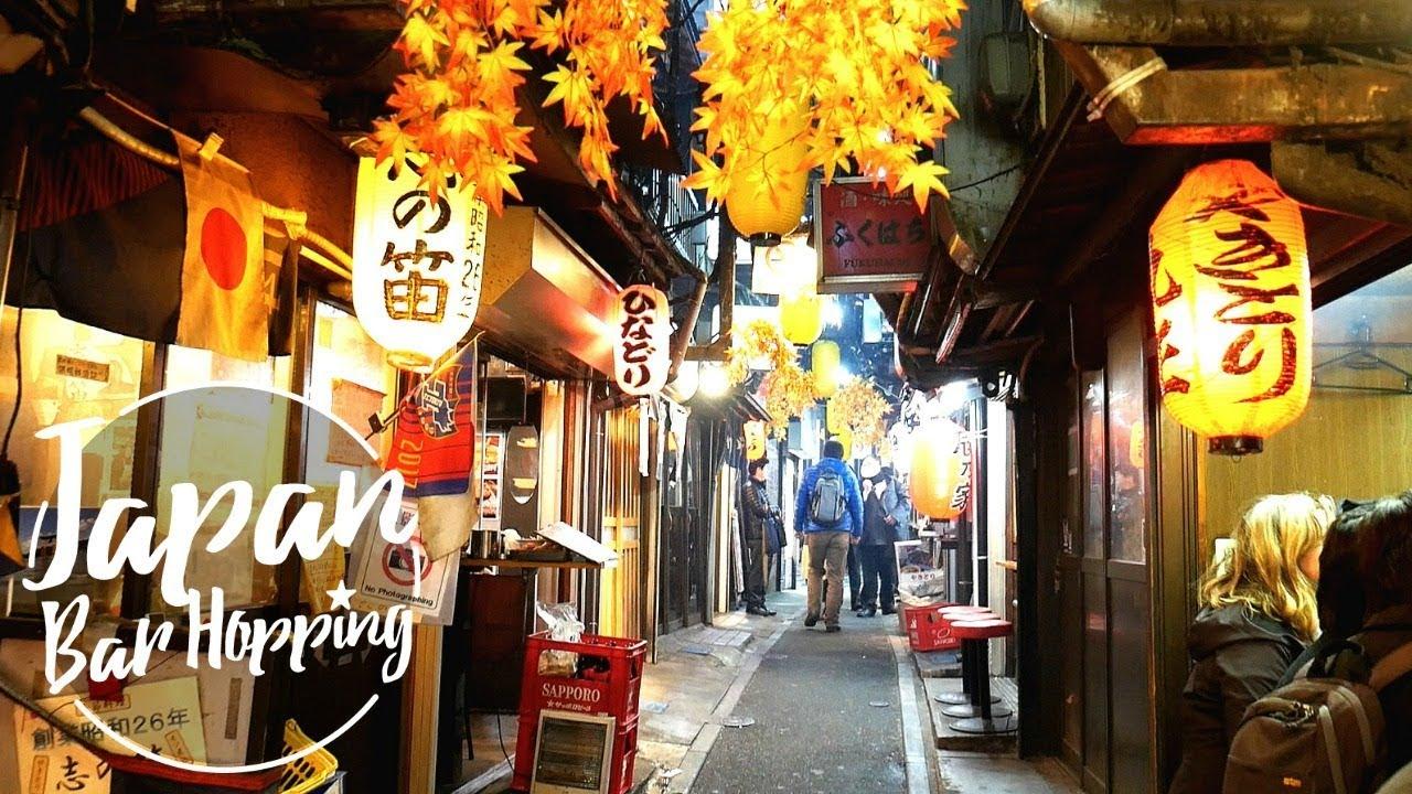 Inside Tokyo's Hidden Alley Bars | Tokyo Nightlife - YouTube