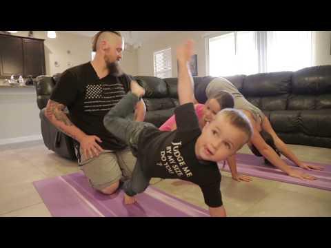 Army vet loses 125 pounds on unique yoga plan