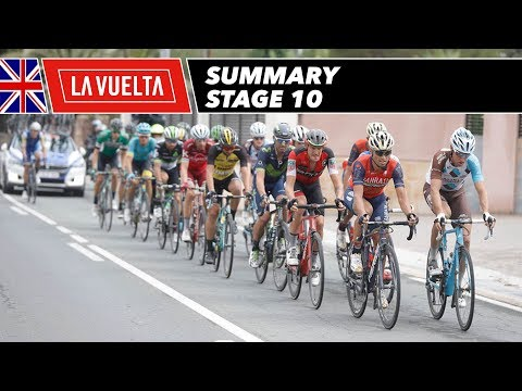 Summary - Stage 10 - La Vuelta 2017