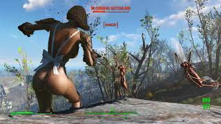 // Sex fallout 4 // level 4 / The first Step