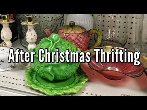 Goodwill Thrifting after Christmas &Home Decor Thrift Haul+More