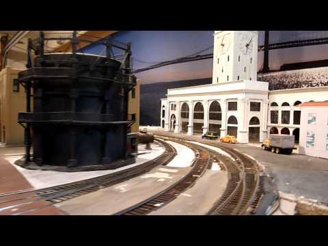 San Francisco State Belt Railroad model layout Part 1