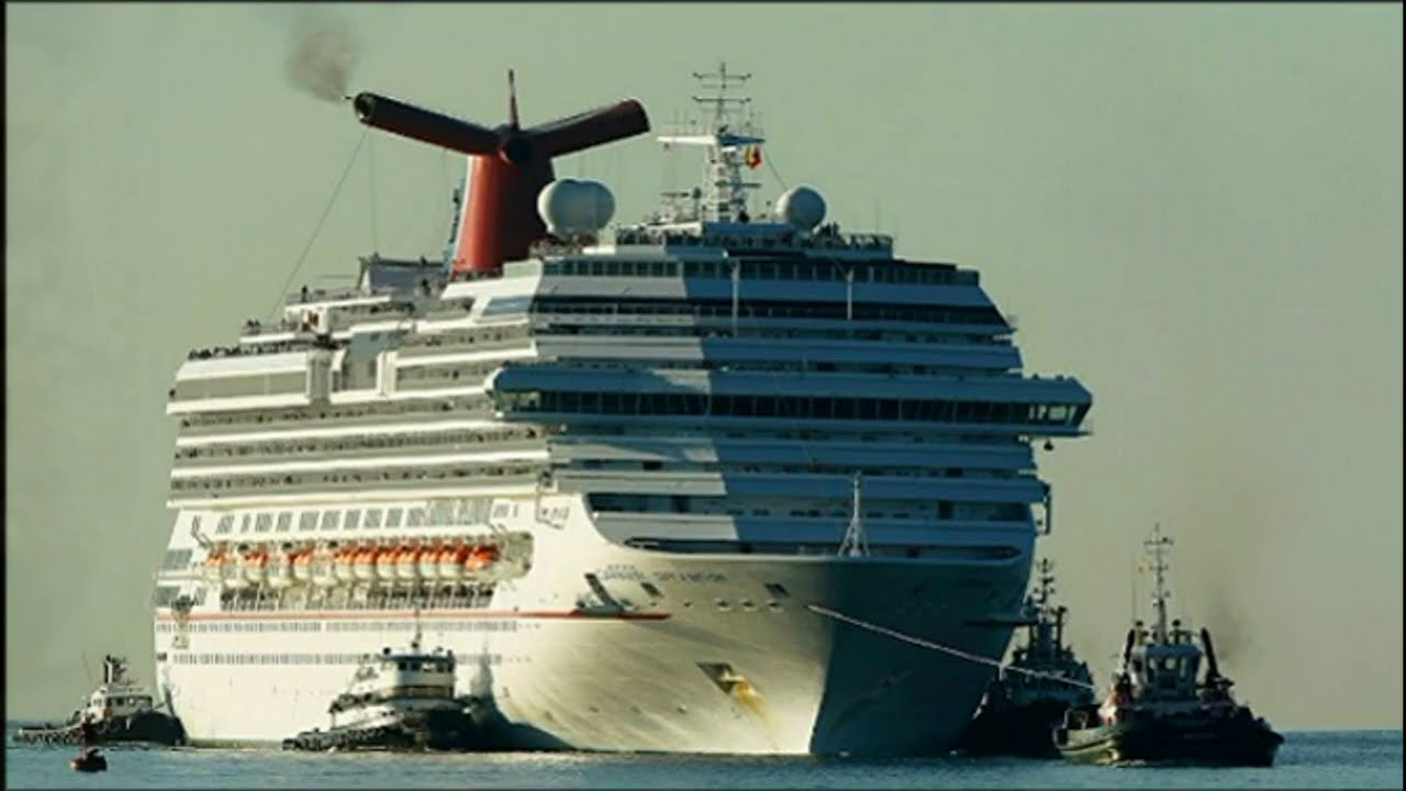Пожар на круизном лайнере Carnival Splendor и другие инциденты. Fire on a cruise ship.