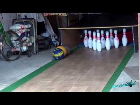 Homemade Bowling Alley #3 (France) - 04/02/2015 | Bowling in the garage