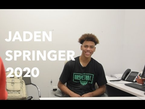 Jaden Springer talks 1st Live Period, USA Camp Experience -  Son of Gary Springer Iona Standout