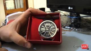 Dealextreme - Unpacking EYKI Water Resistant Wrist Watch - dx.com