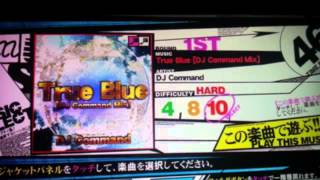 [REFLEC BEAT VOLZZA] True Blue [DJ Command Mix] / DJ Command [音源]