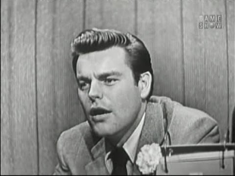 What's My Line? - Robert Wagner; Jeannie Carson [panel] (Feb 24, 1957)