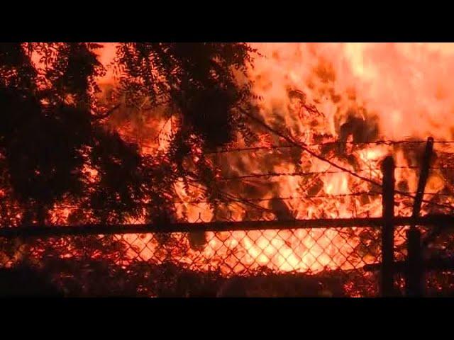 Jim Beam Bourbon fire :(