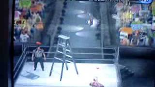 Jeff Hardy vs Edge tlc wwe smackdown shut your mouth.MP4