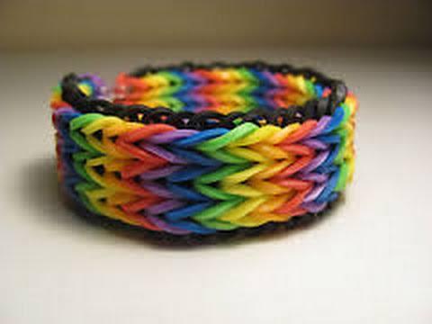 how to make a triple rainbow loom bracelet