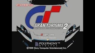 Gran Turismo 2 Rally (Subaru + Lancer Evo V) [PSX] [PS1]