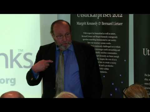 A Real Market Economy - what would it take? May 30: Part 4 - Benard Leitaer