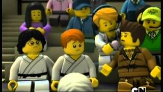 """Лего Ниндзяго 2 сезон 17 эпизод - Гонка """"Ниндзябол"""""""