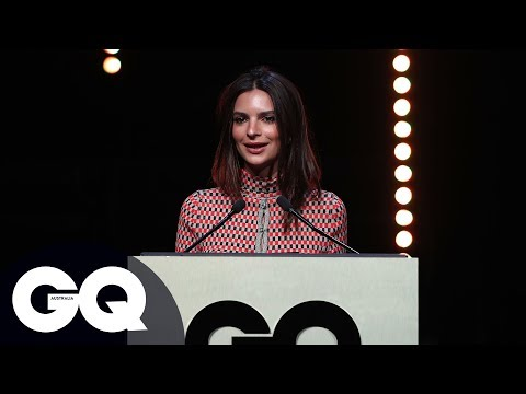 Emily Ratajkowski Says You Can Be Both Sexy And A Feminist In Bikini At GQ Men Of The Year