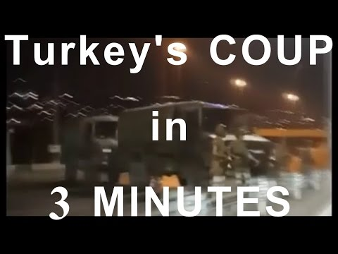 TURKISH COUP EXPLAINED in 3 MINUTES
