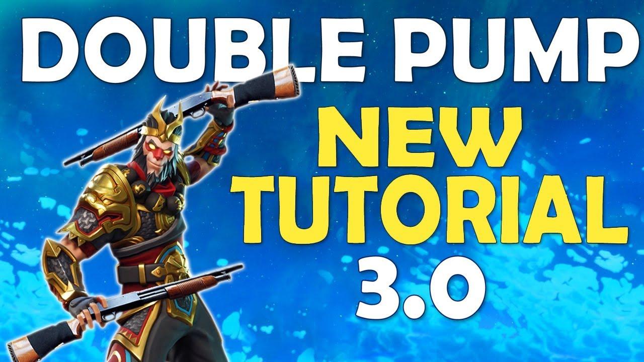 New Double Pump Tutorial Double Pump Returns After Patch   Fortnite Battle Royale