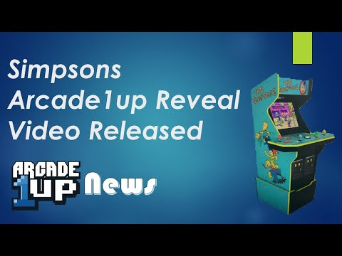 Simpsons Arcade1up Promotional Video Revealed from ConStorm Entertainment