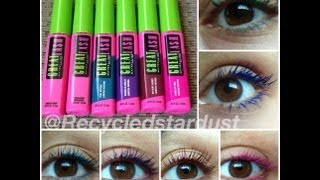 Maybelline Great Lash Limited Edition Colors Review