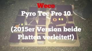 Pyro Tec Pro 10 Größtes Klasse 2 Verbundfeuerwerk der Welt!