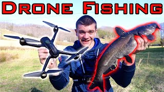 DRONE FISHING for MASSIVE CATFISH!!! (Epic Fight)