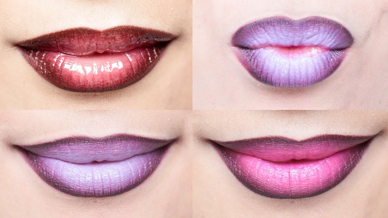 f84f1fe0 Ombre Lips Tutorial with 3 Different Styles | milavictoria