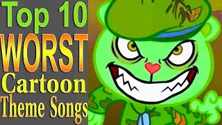Top 10 Worst Cartoon Theme Songs