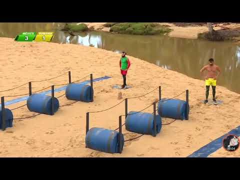Octagón vs Ştefan | Exatlón | México vs Rumania