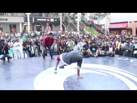 Bboy WildChild vs Bboy mischivous @ Sydenham college Presents Crank dat 2k16 by #BBW
