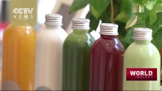 New health trend catching on in China: Juice cleansing