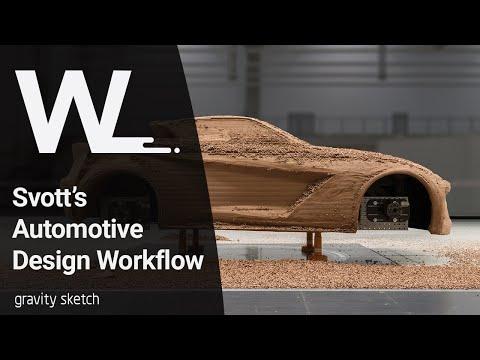 Svott's automotive design workflow using VR technology - Workflows