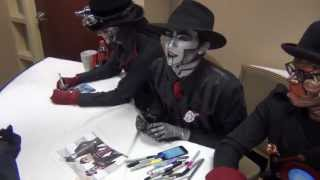 Meef/Fem!Spine meets Steam Powered Giraffe!