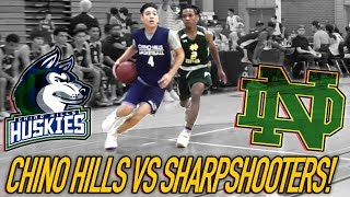 Chino Hills Gets GOLDEN STATE WARRIORS TREATMENT vs Notre Dame! Will Pluma HEATS UP But Its Too Late
