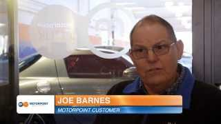 Joe Barnes talks about buying from Motorpoint