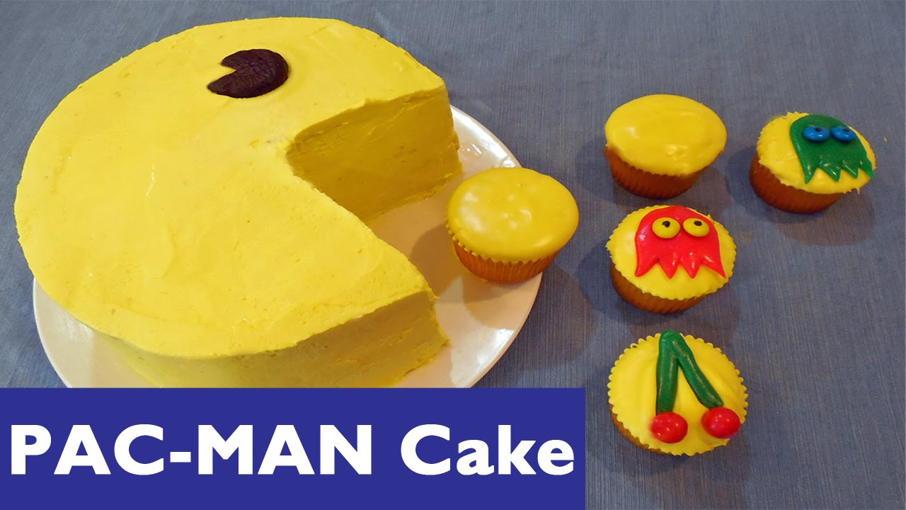 Pacman Cake Images