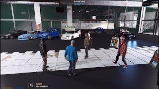 GTA 5 FiveM SARP | Visiting New Huge Car Shop In Town w/ Funny Banter
