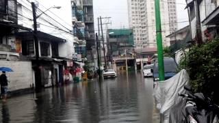 flooded area sav makati