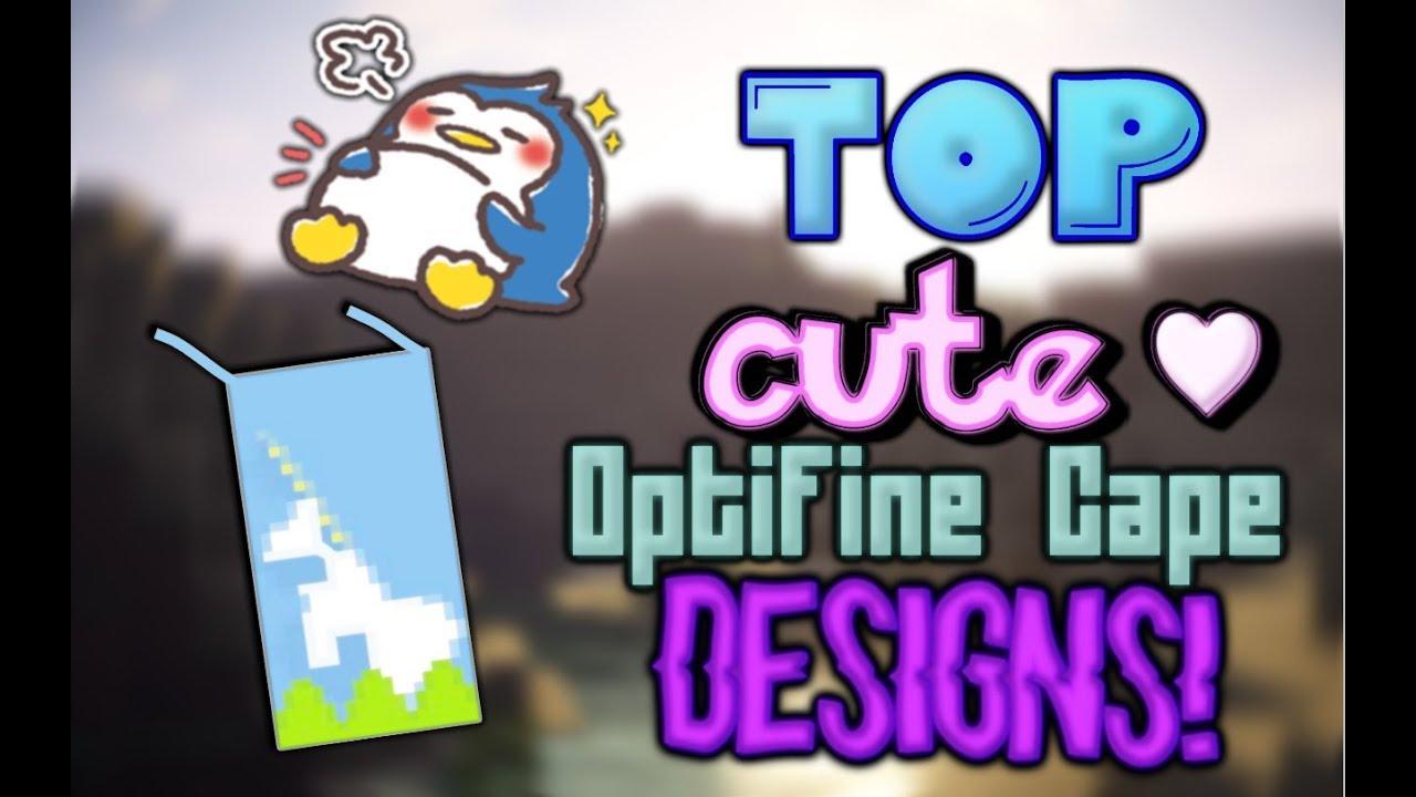 💖 Top 10 CUTE OptiFine Capes - Cape Designs [10]