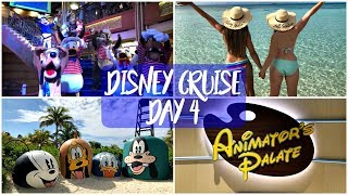 Disney Dream Cruise Bahamas February 2018 | Day 4 - Castaway Cay & Animators Palette