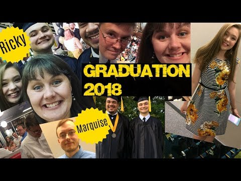 Graduation Vlog- Rick and Marquise Get Their Degrees