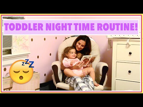 TODDLER NIGHT TIME ROUTINE | Jaclyn Yasmin - YouTube
