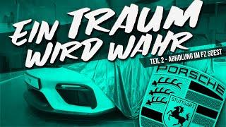 HOW DEEP? // EIN TRAUM WIRD WAHR - ABHOLUNG PORSCHE 718 CAYMAN GT4