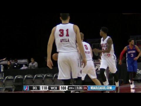 Highlights: Thomas Walkup (24 points)  vs. the 87ers, 12/17/2016