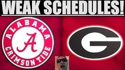 College Football Schedules SUCK!
