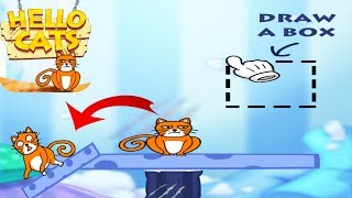 Hello Cats - Help The Cat Drink Water - Gameplay Walkthrough PART 4 Level 118 -  150 All 3 Stars