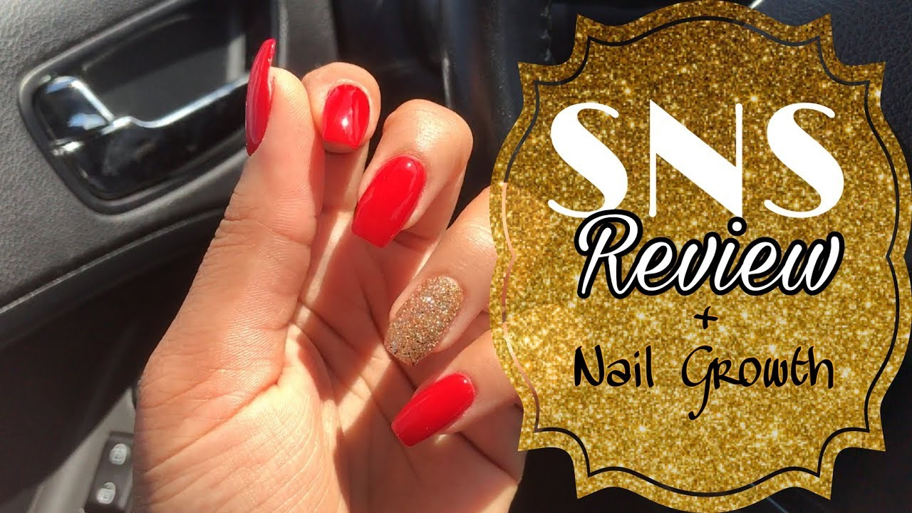 SNS Review + Fast Nail Growth Tips   BeYoutiful, Ep. 1 - YouTube