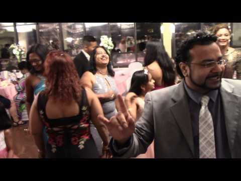 Ninas Guyanese Jamaican  wedding  house  dancing