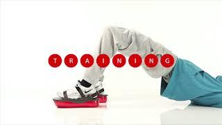 Produktvideo zu Gleichgewichtstrainer Sprunggelenk Togu Dynair Walker Comfort