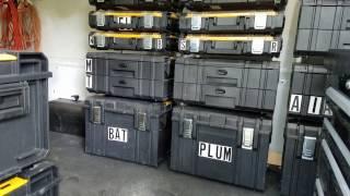 Dewalt Tough System Custom Van Racking 2016 Transit 250