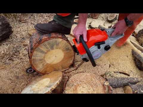 HOMDOX f6200 Chainsaw - YouTube